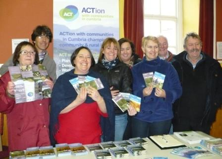 ACT's Annie Hamilton Gibney launches the Tebay and Orton Walks and Cycling leaflets