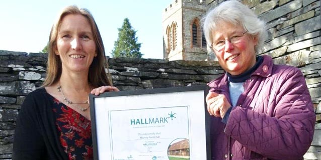 Thursby Parish Hall first to receive national quality award in Cumbria