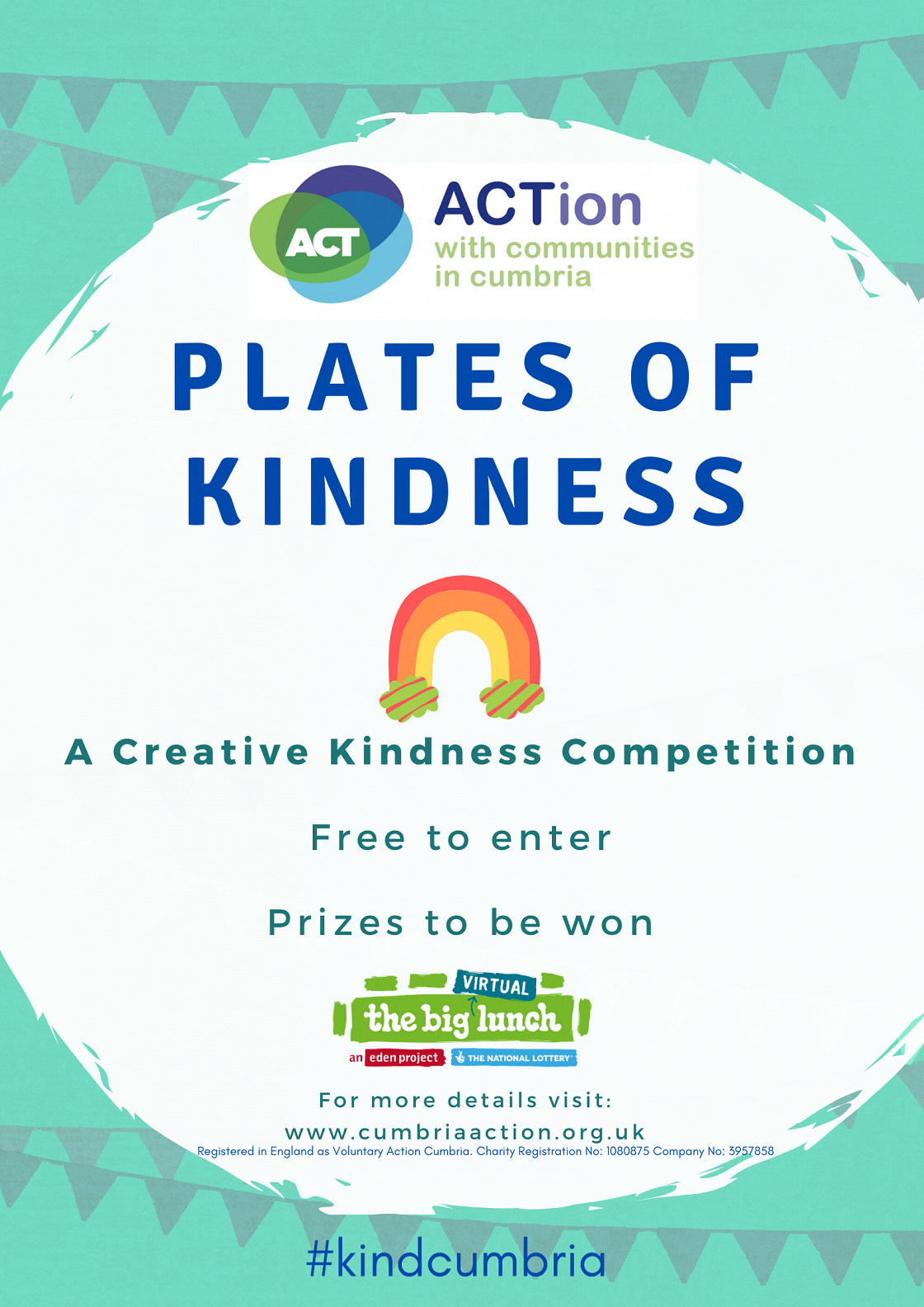 Poster: Plates of Kindness competition.