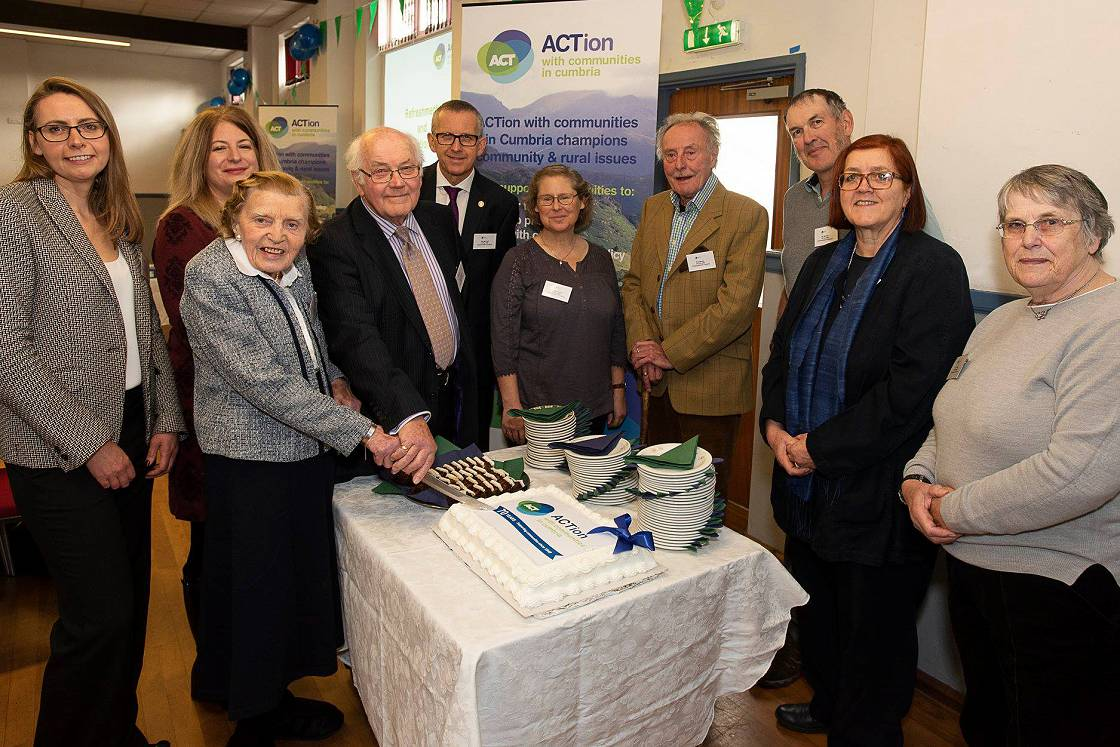ACT's trustees celebrating its 70th birthday in 2018.