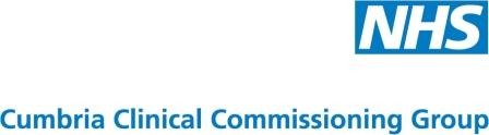 Logo: Cumbria Clinical Commissioning Group