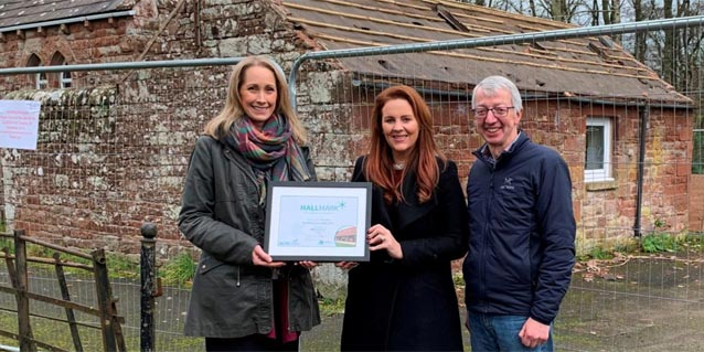 £300,000 refurbishment and national award for Hunsonby Community Centre