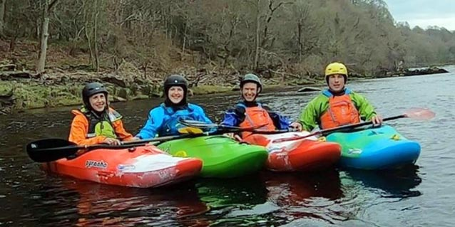 Lakeland Canoe Club takes ownership of four new river kayaks