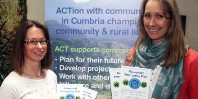 2018 Local charity supports community resilience across Cumbria